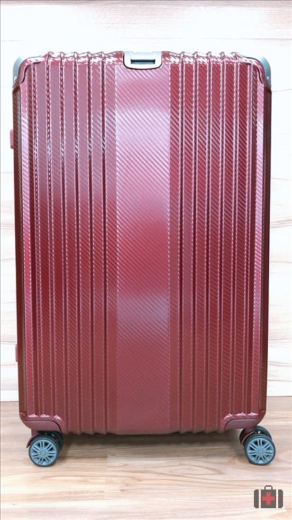 鋁框箱-酒紅